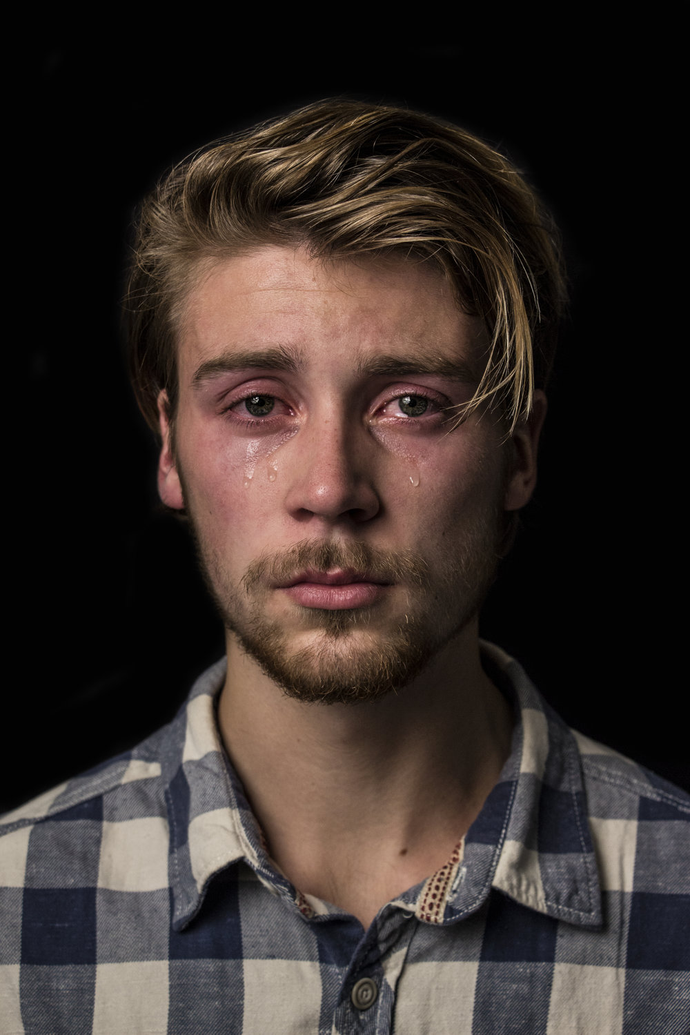 Jip (20)   Emotional crying is one of the few things that differentiate us from animals. Ironically, so i the urge to suppress our nature because of social constructs.