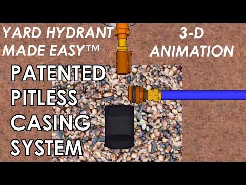 Yard Hydrant Made Easy™ & Wall Hydrant Made Easy™ - Hydrant