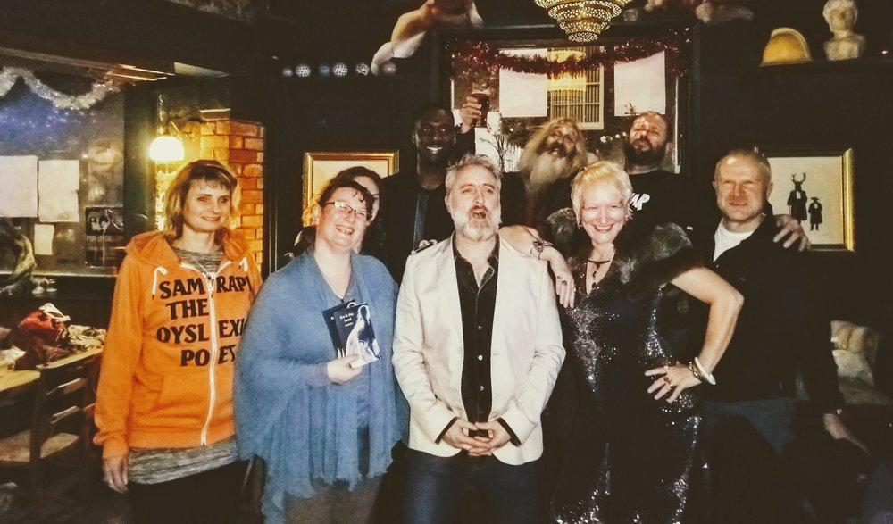 Guerrilla Poets - Lansdown Arms, Lewes, December 2018