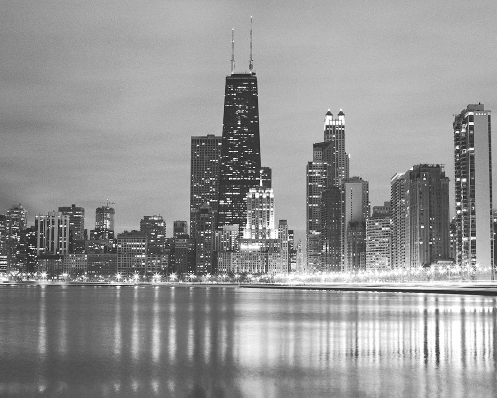 Black white chicago