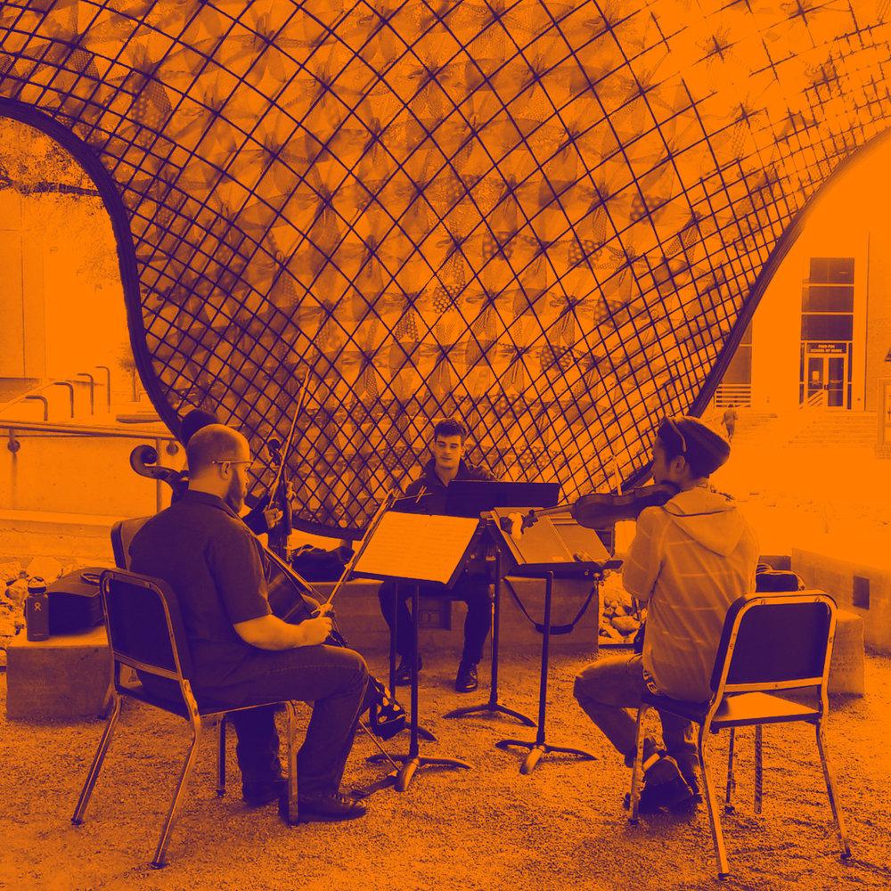 Musicians under the gridshell GRADIENT MAP.jpg