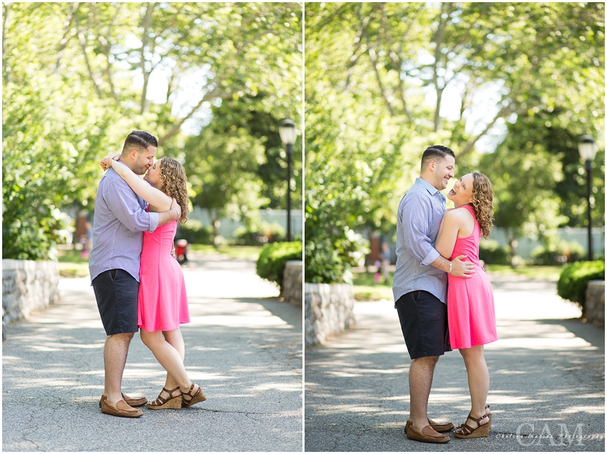 Kristen + Jon Engagement UES with Chelsea Matson Photography