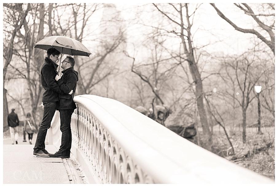 Evan + Kyle Central Park Engagement