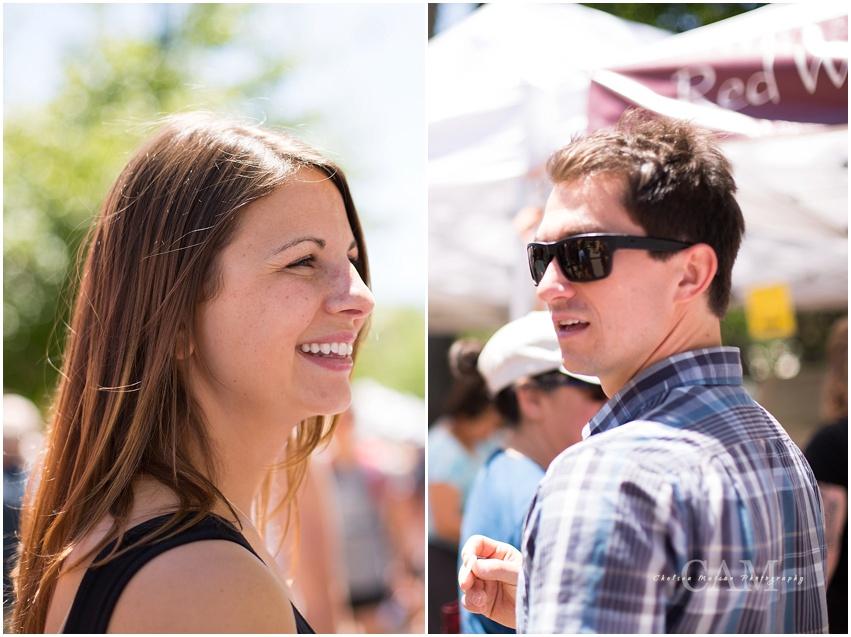Victoria + Jason Boulder Colorado Engagement Session with Chelsea Matson Photography