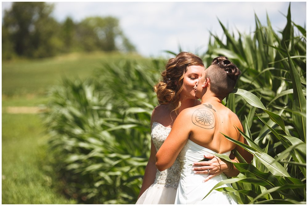 Abby + Jess Married, Elk Farm in Hampton MN