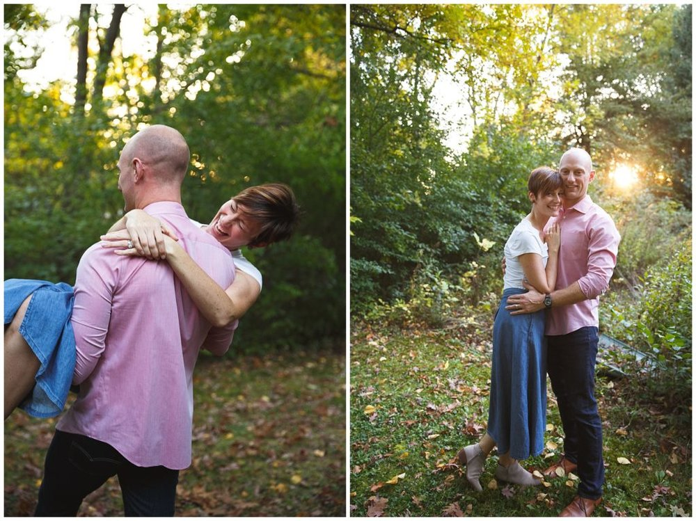 Getting some anniversary photos for mom and dad!