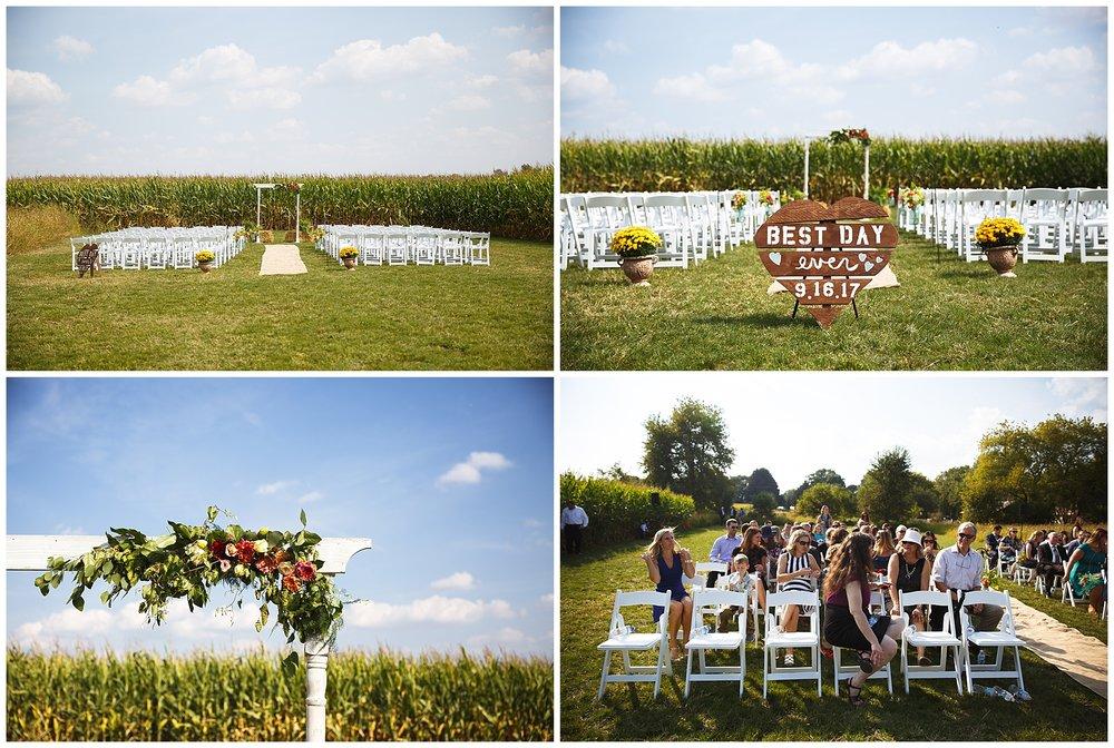 Kim + Jeff Married at Mapleton Barn - Chelsea Matson Photography 2017