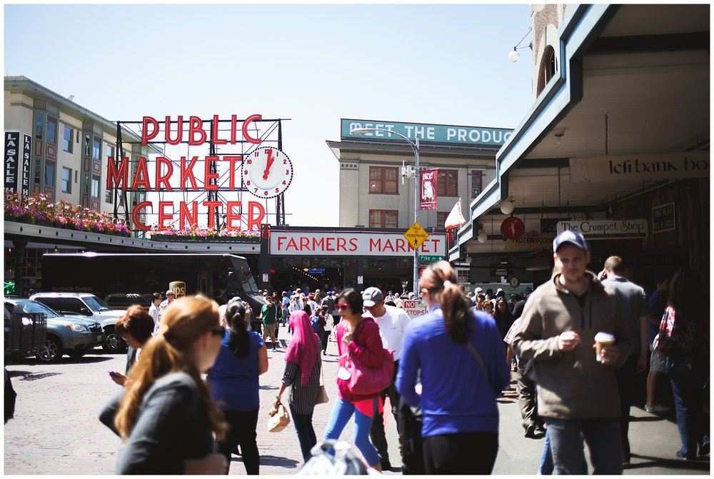 pike place, seattle, a little exploring