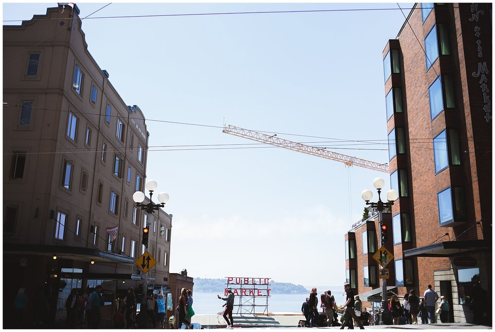 pike place, seattle, a little exploring - always construction