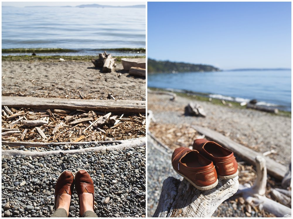 pike place, seattle, a little exploring - golden gardens park, and my TOMS looking fresh