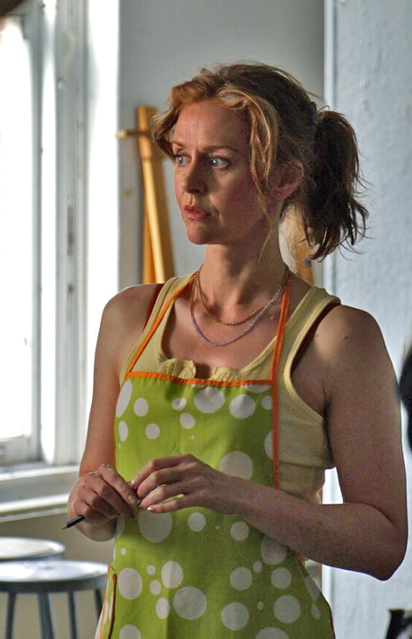 Amanda Barron as Debra in Drawing with Debra