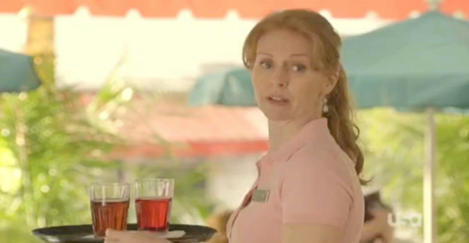 Amanda Barron in Royal Pains