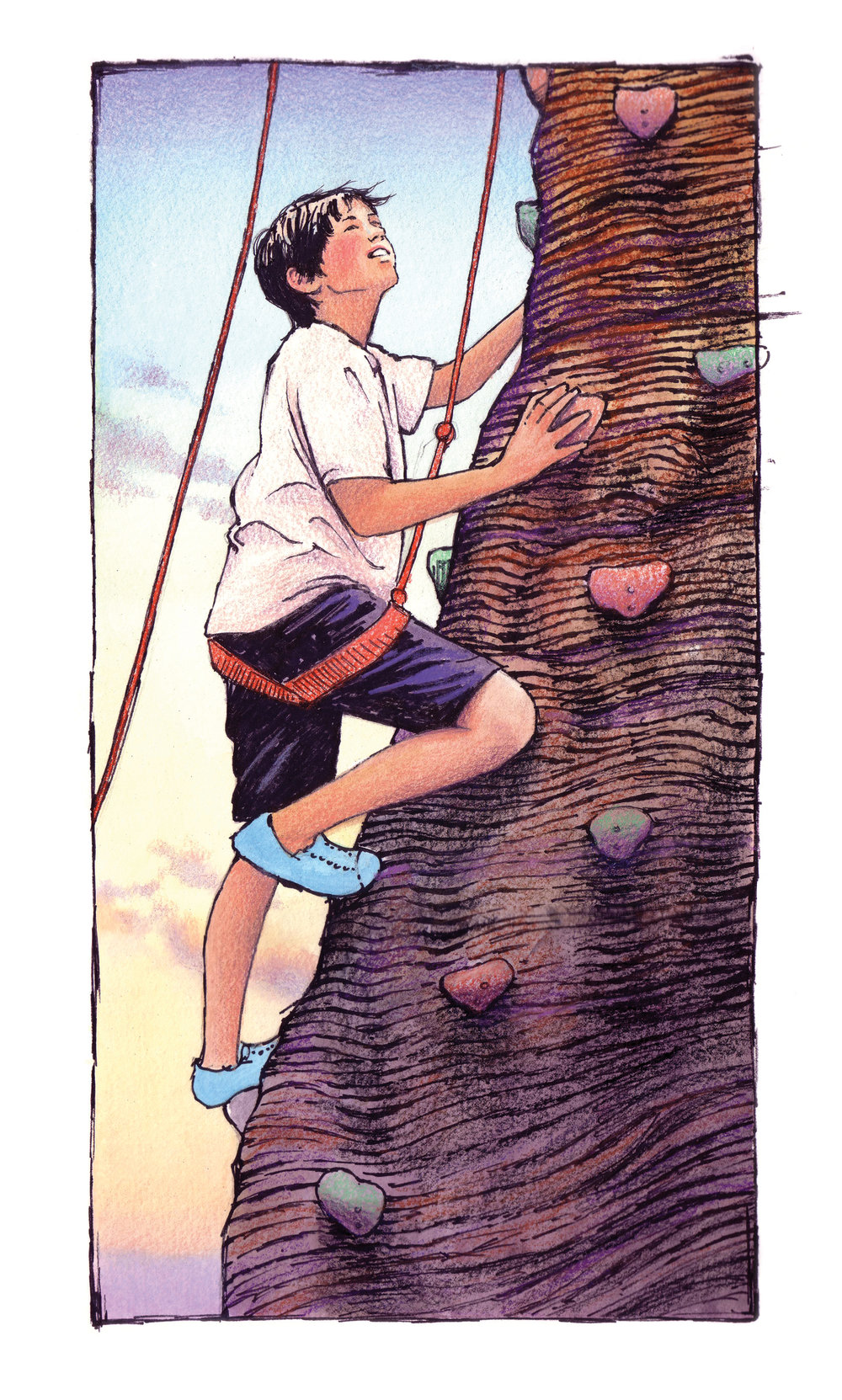 MBYOD Rock Wall ART
