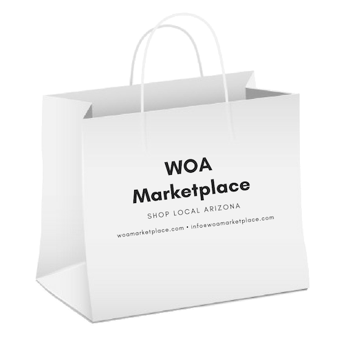WOA Marketplace - Shop Arizona products in our collection of featured local retailers, and buy directly from WOA. We're getting ready to launch this new feature right here at this location (www.worldofarizona.com/marketplace). Check back for updates or fill out the form below to join our mailing list.