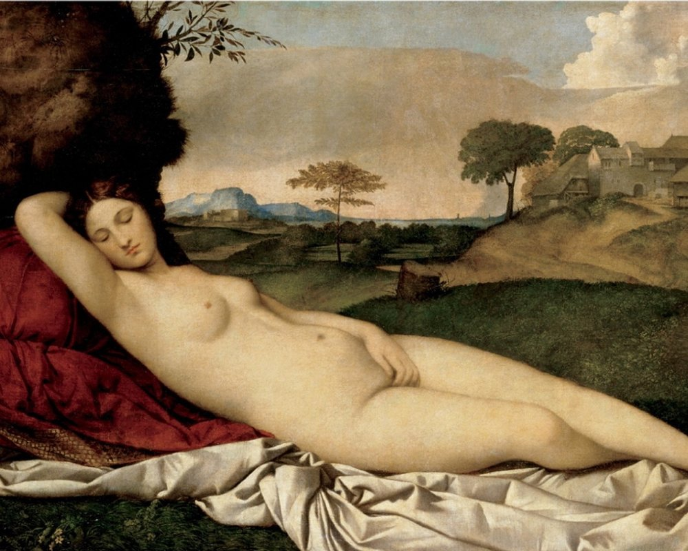sleeping venus - giorgione