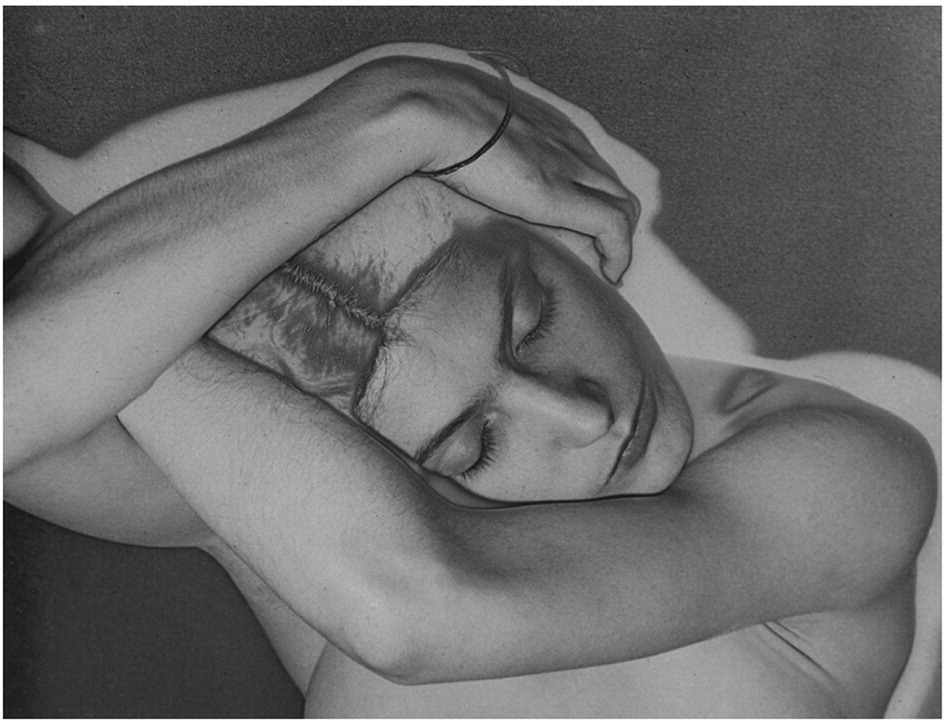 sleepingwoman - man ray