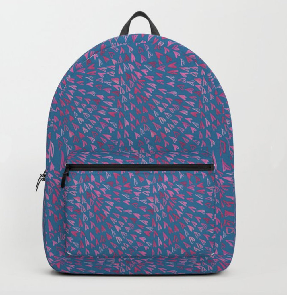 Mosaic Hearts ~Backpack