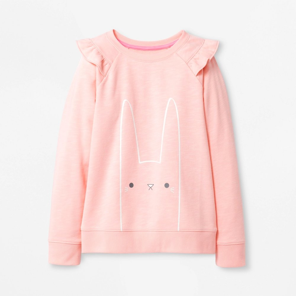 CAT&JACK GIRLS EASTER SWEATSHIRT