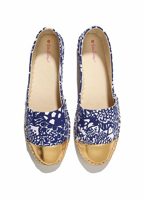 TARGETxLILLY CANVAS SLIP ON