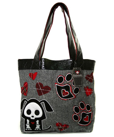 SKELANIMALS TOTE FOR HOT TOPIC