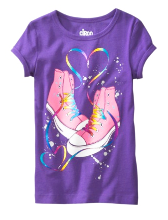 CIRCO GIRLS GRAPHIC TEE