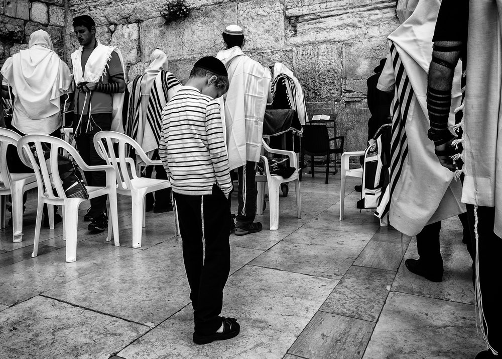 Praying At The Western Wall.jpg