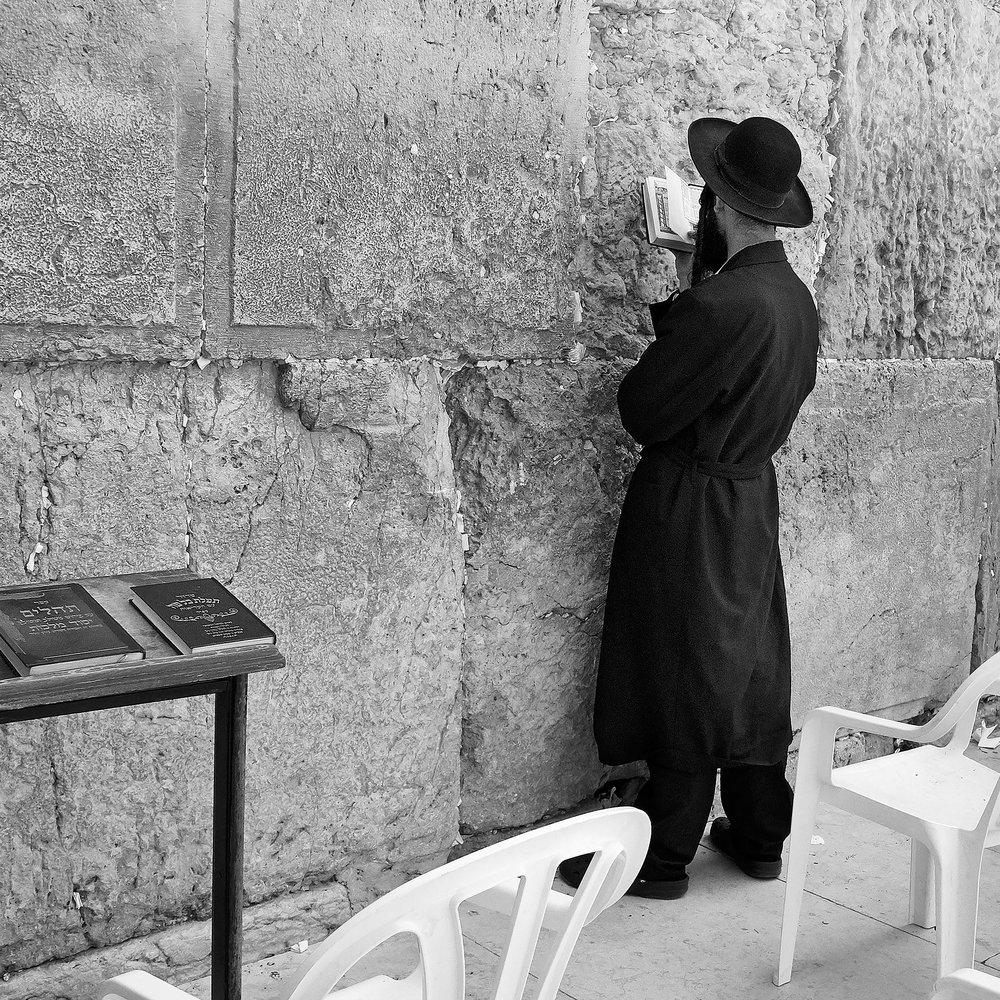 Praying At The Western Wall - 2.jpg