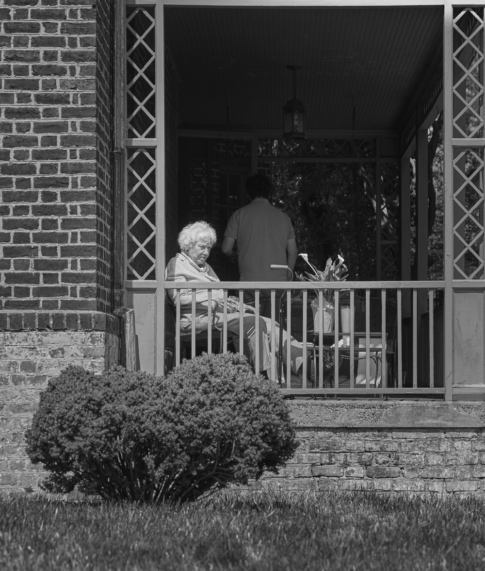Sunnin' on the Porch