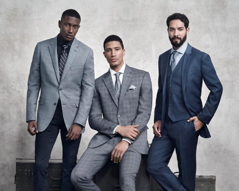Men's Warehouse - Exclusive 37.5 Technology fabric development in a Men's Suit