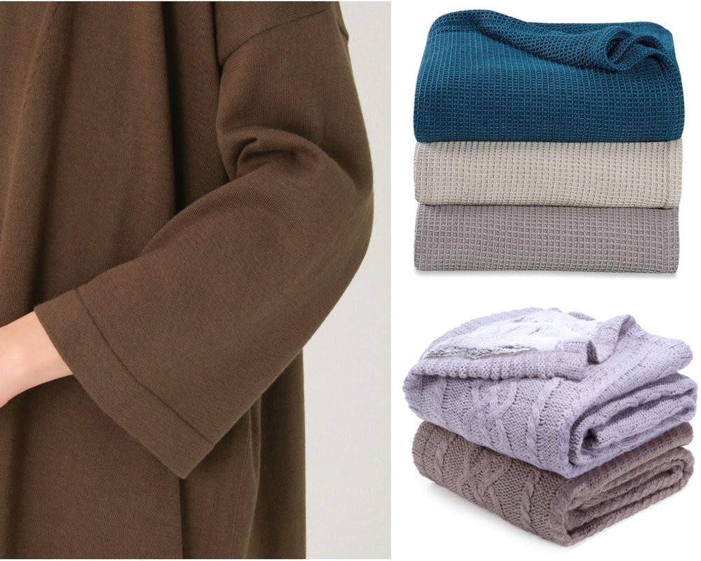 SHEEX Ideation Concept - Exclusive development in Multi-Purpose Knitted Blankets using 37.5 Technology for SHEEX