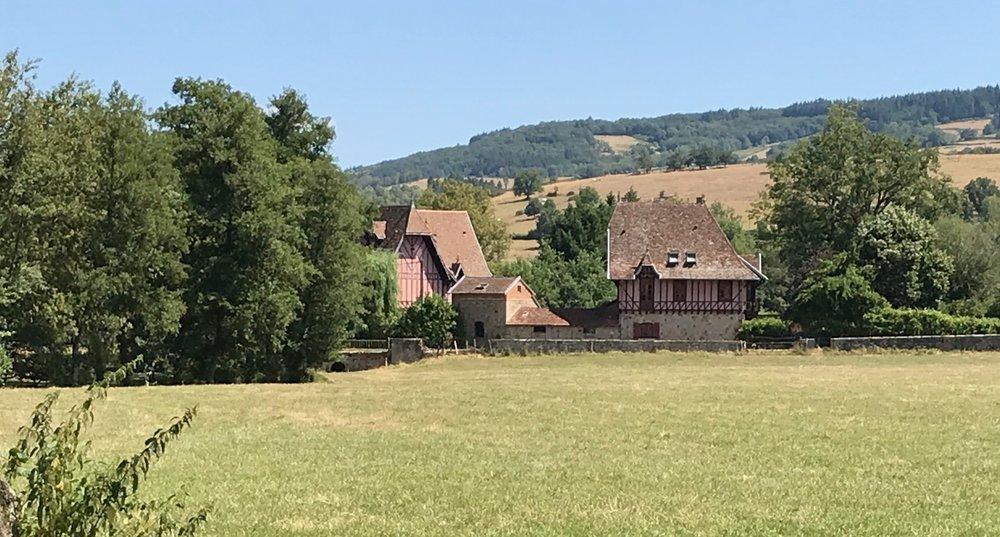 La Maison Normande in St Léger sous la Bussière in Burgundy, France