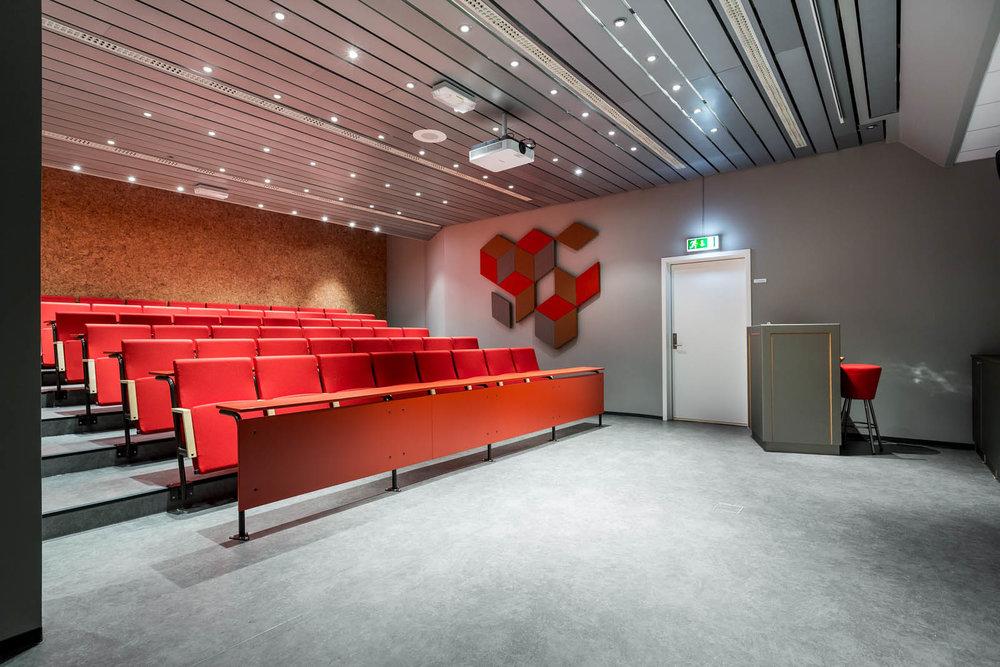 Auditorium and meeting areas
