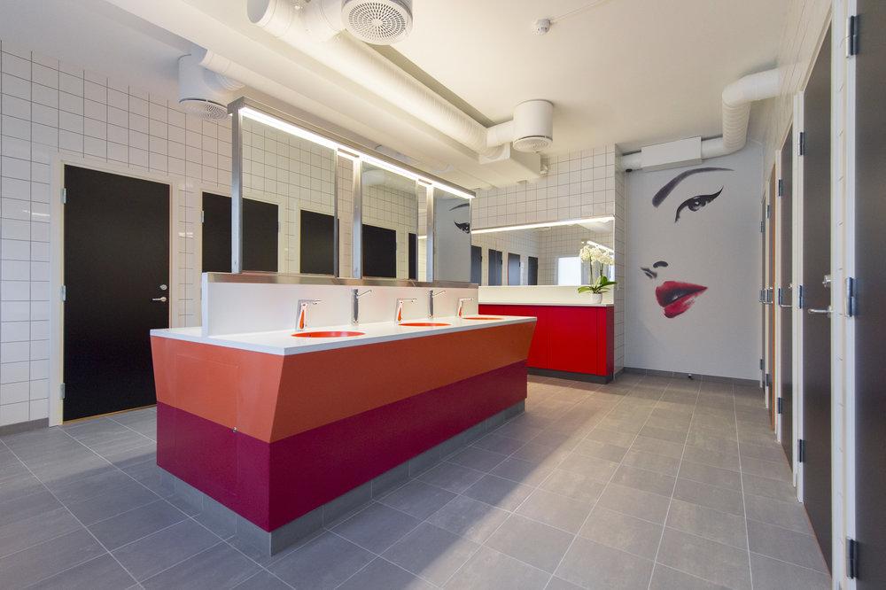Student bathrooms