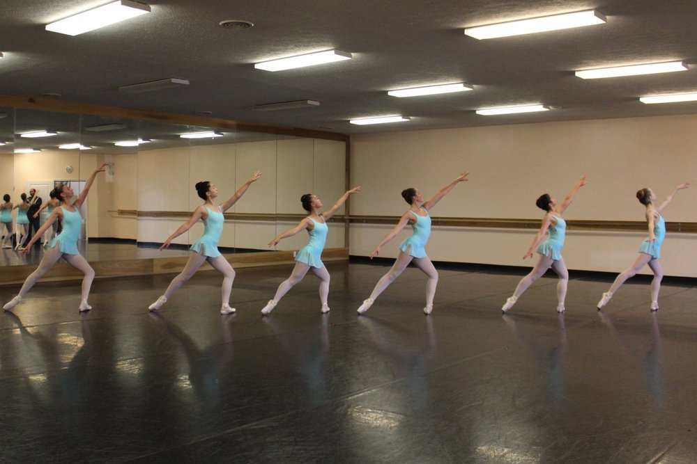 2016 Summer Intensive Students from Derek Reid, Professor at Butler University, Choreography Session.