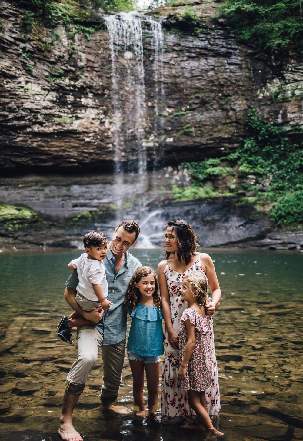 The Goodman's - I found Crystal through Instagram after searching through hundreds of photographers in the Atlanta area. What I was looking for wasn't your typical photoshoot. I wanted to find a photographer adventurous enough to come document my family of 5 hiking through Cloudland Canyon.Crystal's style is both light and moody at the same time. I don't know how that's possible, but through her lens it is. Besides the obvious talent she has, what makes her a gem is her sunny disposition and easy-going nature. Crystal was amazing with the kids and she put everyone at ease! Our pictures came out like they were from a magazine. I actually contacted Crystal again to photograph our AirBnb. We needed some fresh pictures that would draw bookings...voila! Once again, Crystal delivered. We've had so many compliments on our pictures and not to mention, so many bookings. After all, pictures tell the story 10x better than words could. I highly highly recommend Crystal for her talent, her professionalism and her dedication to her craft.