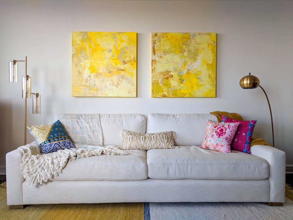 Paintings on Stretched Canvas