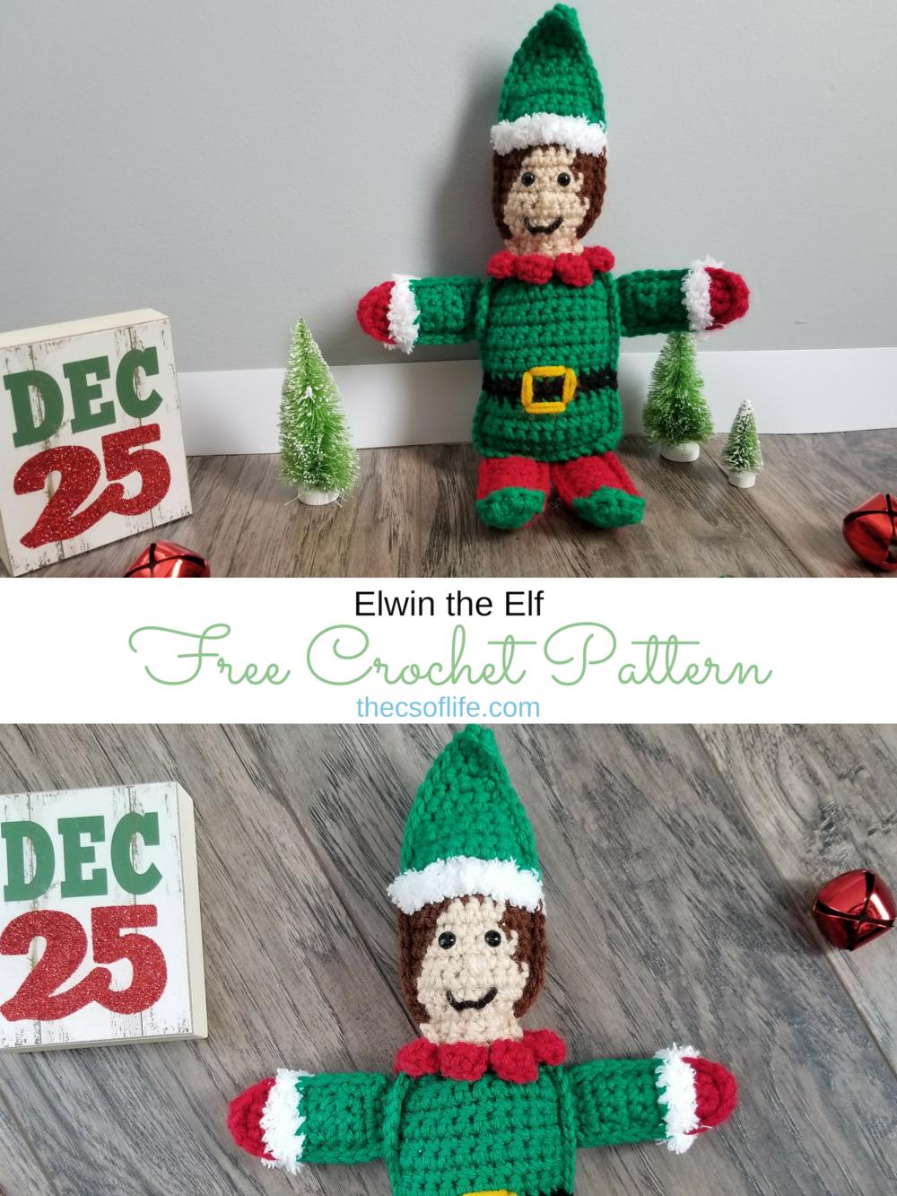 Elwin the Elf - Free Crochet Pattern
