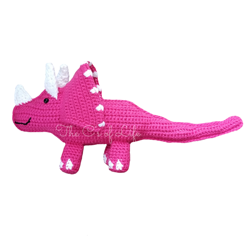 Tina the Triceratops