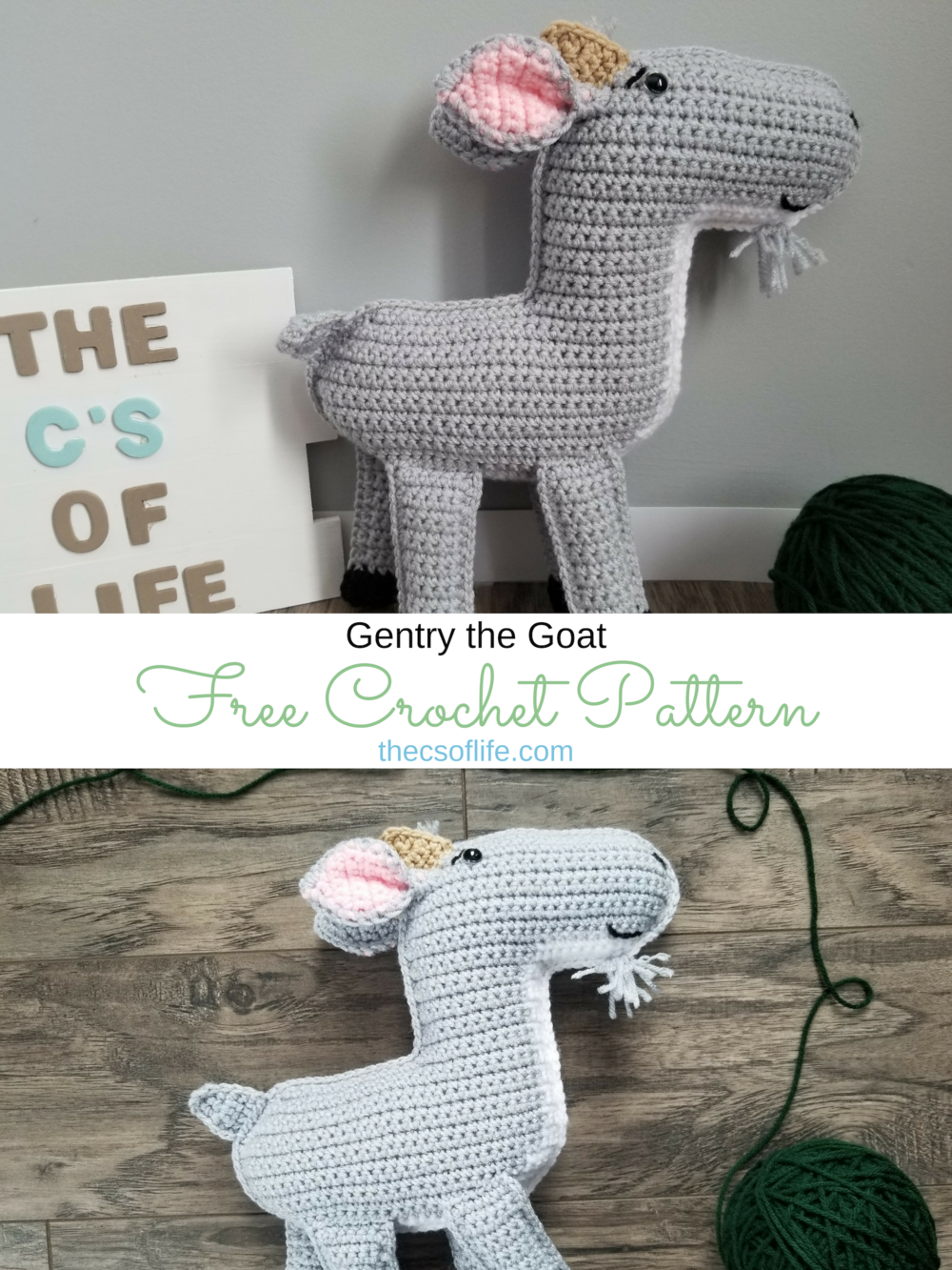 Gentry the Goat - Free Crochet Pattern