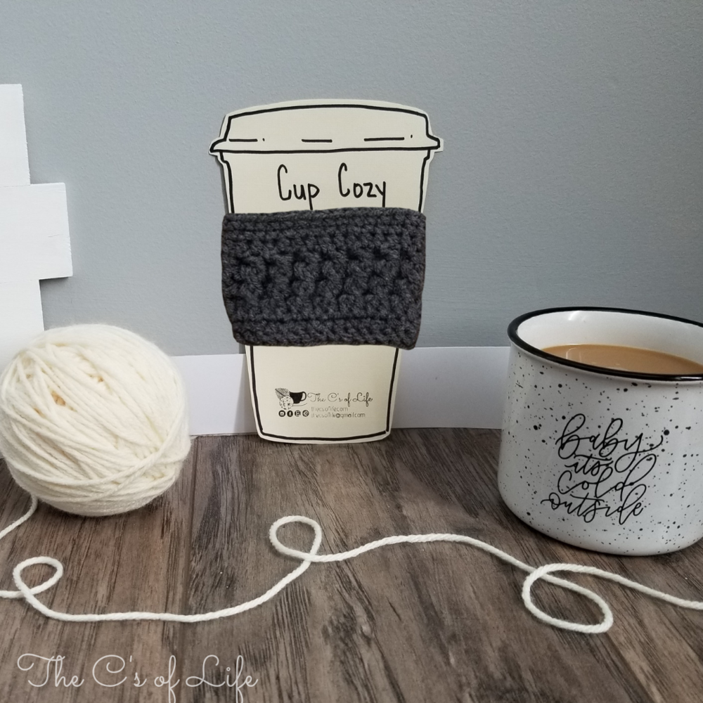 Love your coffee, cup cozy