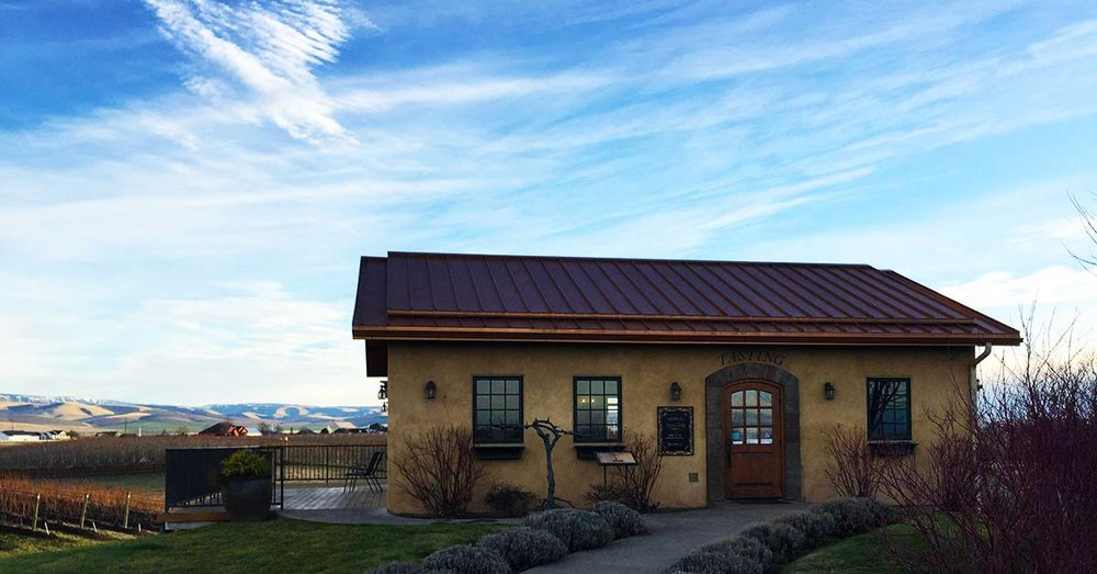 The Pepper Bridge Winery tasting room