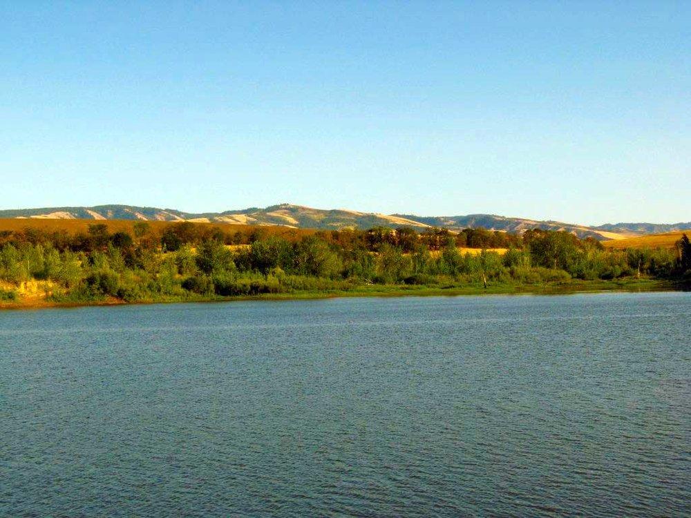 My first View of Bennington Lake, September 2008