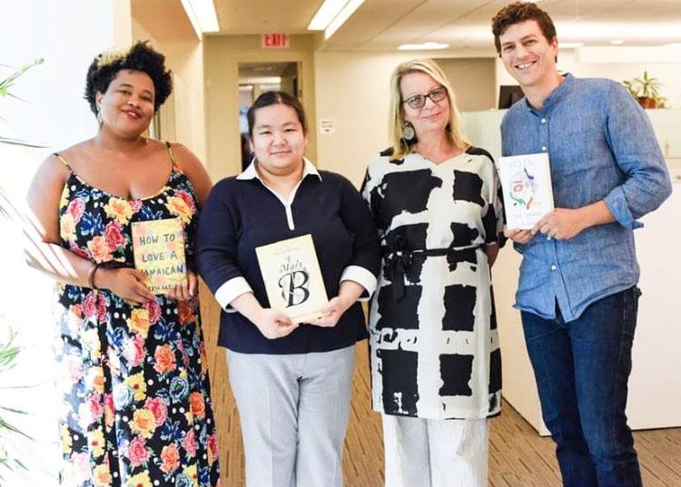 Random House Summer Open House 2019 with Leigh Haber Books Editor at O magazine.jpg