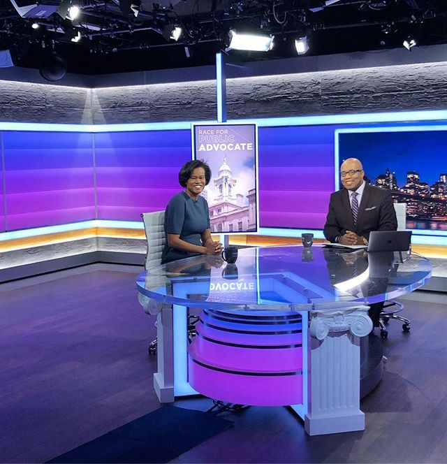 I'm on TV!!! Such a pleasure to join @errol.louis on @ny1 this evening!  Make sure you watch TONIGHT at 7pm & 11pm! #dawn4ny #ontv #heymom