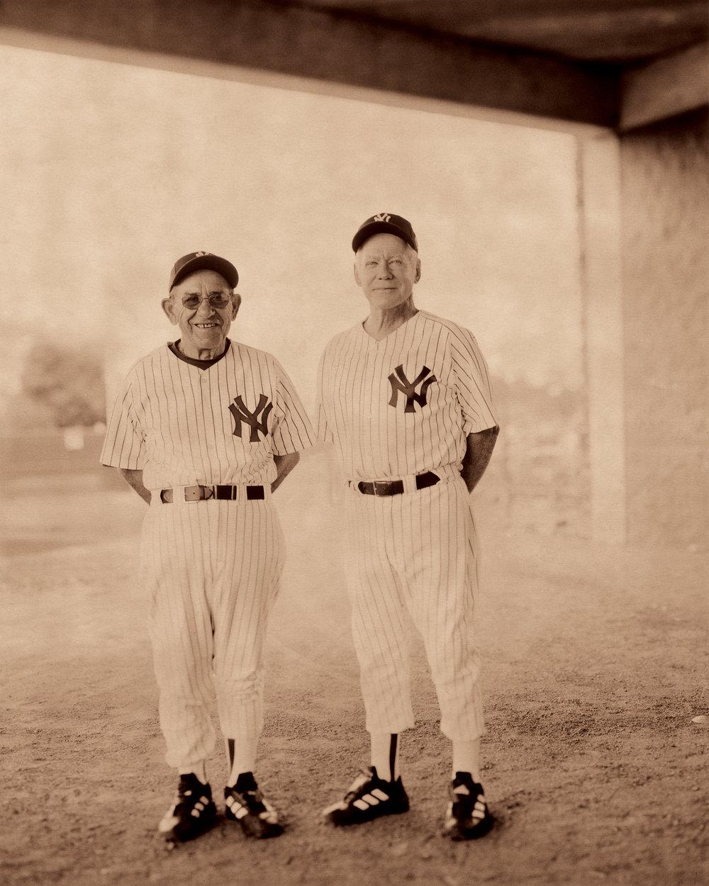 Yogi Berra & Whitey Ford, 2001