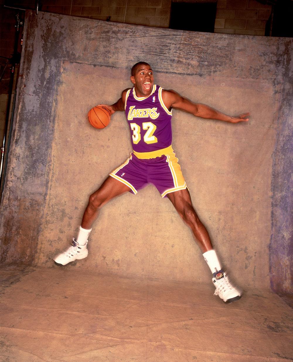 Magic Johnson, 1996
