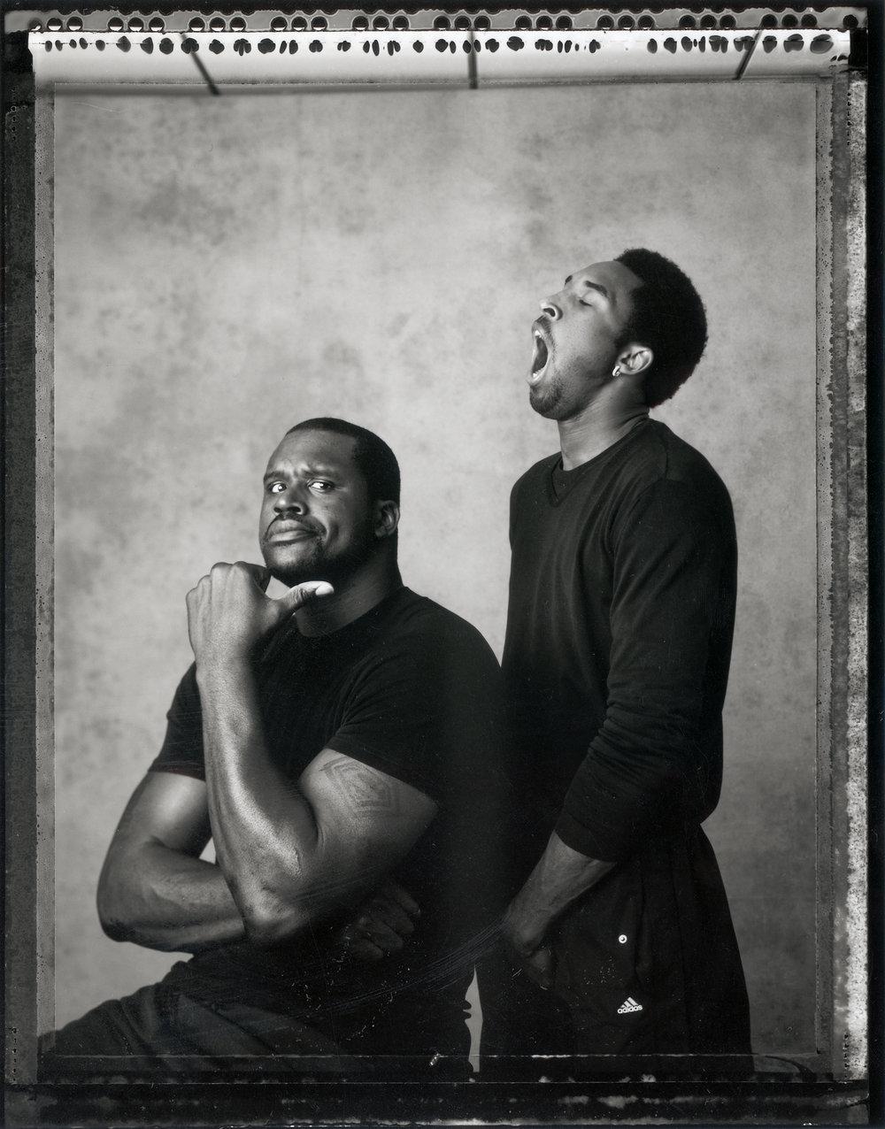 Shaquille O'Neal & Kobe Bryant, 2001