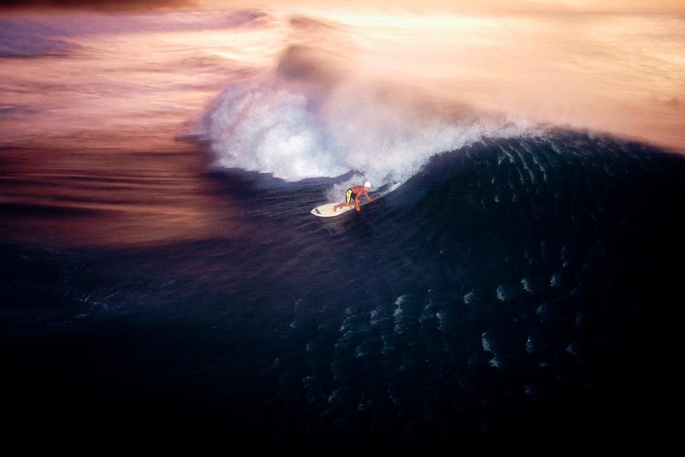 Pipeline, Oahu, 1990