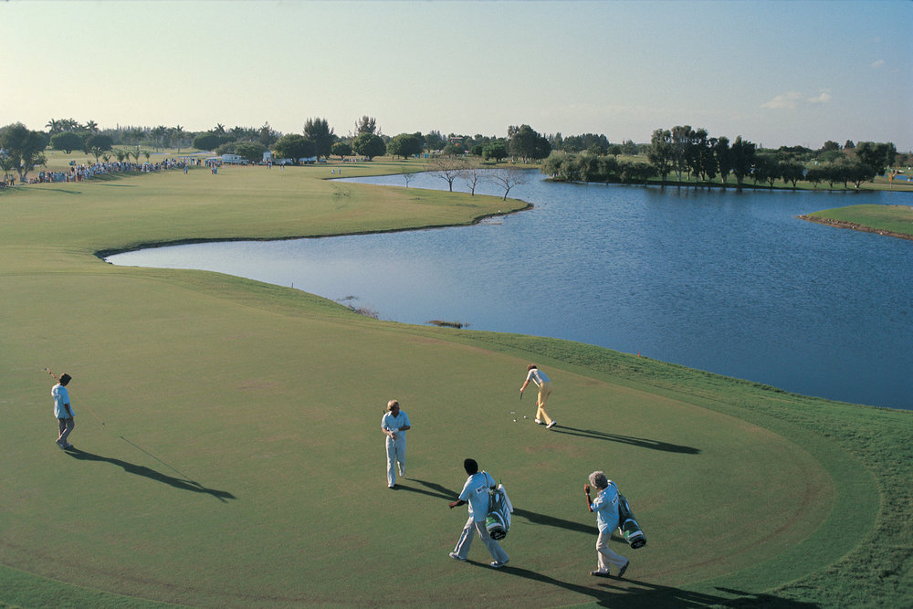 18th Hole, Doral Golf Resort, Miami, Florida, 1976