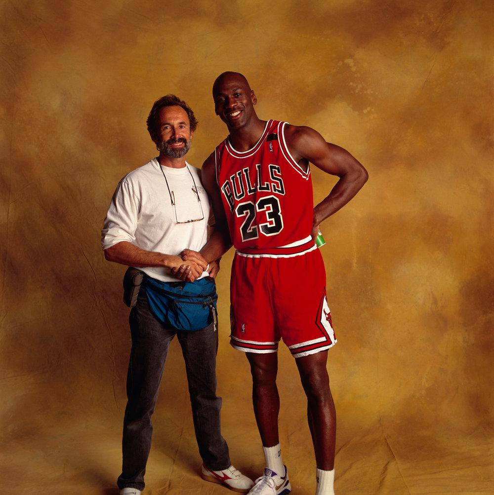 Walter Iooss Jr. & Michael Jordan,